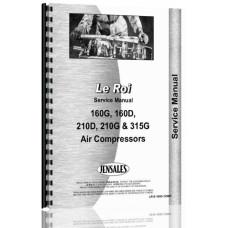 Leroi 160G Air Compressor Service Manual