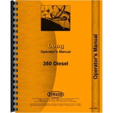 Long 350 Tractor Operators Manual