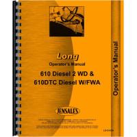 Long 610DTC Tractor Operators Manual