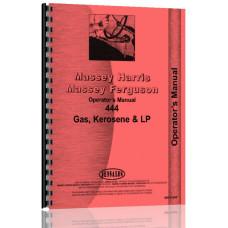 Massey Harris 444 Tractor Operators Manual