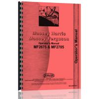 Massey Ferguson 2675 Tractor Operators Manual