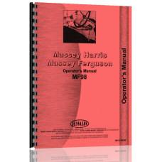 Massey Ferguson 98 Tractor Operators Manual