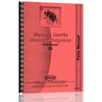 Massey Harris 25 Tractor Parts Manual