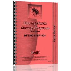 Massey Ferguson 1800 Tractor Parts Manual