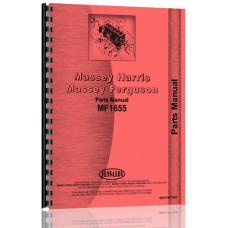 Massey Ferguson 1655 Lawn & Garden Tractor Parts Manual (LP & Gas)