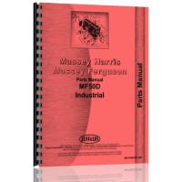 Massey Ferguson 50D Industrial Tractor Parts Manual