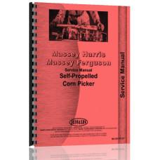 Massey Harris 2 Corn Picker Service & Operators Manual (2 Row Self Propelled)