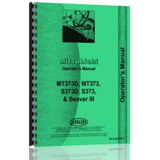 Satoh MT373, MT373D, S373, S373D Tractor Operators Manual