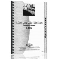 Minneapolis Moline 5 Star Tractor Operators Manual (SN# S236) (S236)
