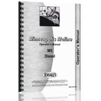 Minneapolis Moline M5 Tractor Operators Manual (SN# S268) (S268)