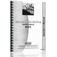Minneapolis Moline M670 Tractor Operators Manual