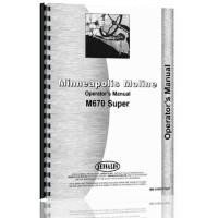 Minneapolis Moline M670 Tractor Operators Manual (SN# S458) (S458)