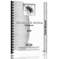 Minneapolis Moline GVI Tractor Parts Manual