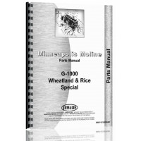 Minneapolis Moline G1000 Tractor Parts Manual
