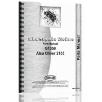 Minneapolis Moline G1350 Tractor Parts Manual