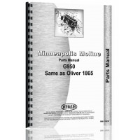 Minneapolis Moline G950 Tractor Parts Manual