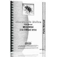 Minneapolis Moline M5 Tractor Parts Manual