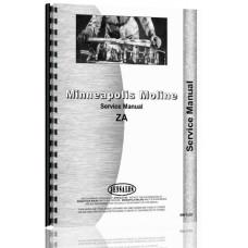 Minneapolis Moline Tractor Service Manual (MM-S-ZA)