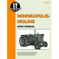 Minneapolis Moline G1000 Tractor Service Manual [IT Shop]