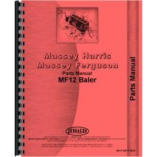 Massey Ferguson 12 Baler Parts Manual