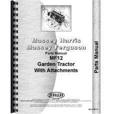 Massey Ferguson 12 Lawn & Garden Tractor Parts Manual