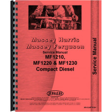 Massey Ferguson 1210 Tractor Service Manual