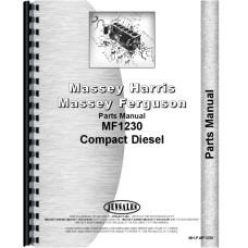 Massey Ferguson 1230 Tractor Parts Manual