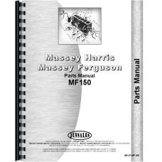Massey Ferguson 150 Tractor Parts Manual