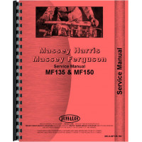 Massey Ferguson 135 Tractor Service Manual (1964-1975)