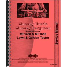 Massey Ferguson 1450 Lawn & Garden Tractor Service Manual
