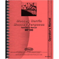 Massey Ferguson 180 Tractor Operators Manual