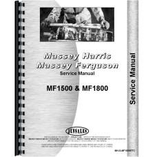 Massey Ferguson 1800 Tractor Service Manual