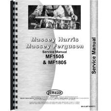 Massey Ferguson 1505 Tractor Service Manual