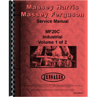 Massey Ferguson 20C Industrial Tractor Service Manual