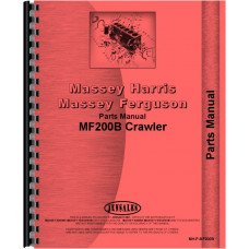 Massey Ferguson 200B Crawler Parts Manual