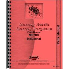 Massey Ferguson 20C Industrial Tractor Parts Manual