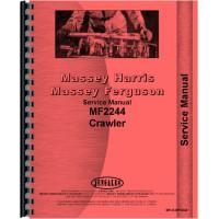 Massey Ferguson 2244 Crawler Service Manual