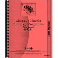 Massey Ferguson 231 Tractor Parts Manual