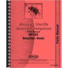 Massey Ferguson 283 Tractor Parts Manual (Brazilian Made)