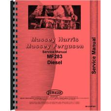 Massey Ferguson 283 Tractor Service Manual (Brazil Produced)