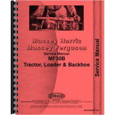Massey Ferguson 30B Industrial Tractor Service Manual