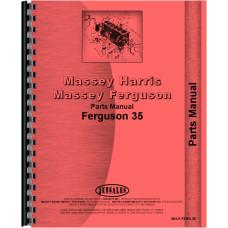 Ferguson 35 Tractor Parts Manual