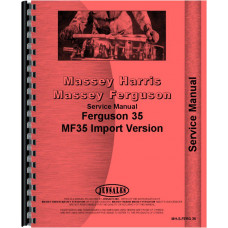 Ferguson 35 Tractor Service Manual (Gas and Diesel)
