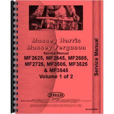 Massey Ferguson 2625 Tractor Service Manual