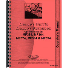 Massey Ferguson 354GE Tractor Operators Manual