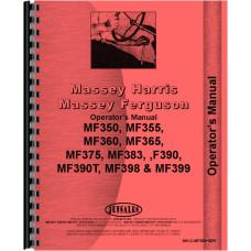 Massey Ferguson 390 Tractor Operators Manual
