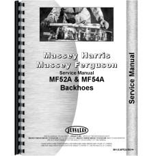 Massey Ferguson 52A Backhoe Attachment Service Manual