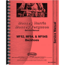 Massey Ferguson 54 Backhoe Attachment Service Manual