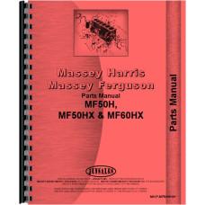 Massey Ferguson 60H Tractor Loader Backhoe Parts Manual