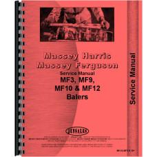 Massey Ferguson 3 Baler Service Manual